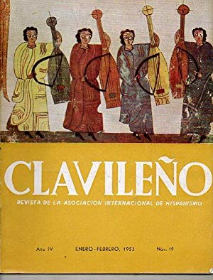 CLAVILEÑO. Revista de la Asociación Internacional de Hispanismo. Nº 19.: Conde, ...