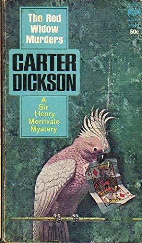 THE RED WIDOW MURDERS.: Dickson, Carter.