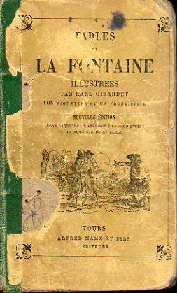 FABLES DE LA FONTAINE PRÉCÉDÉES DE LA: D. S. (Ed.)