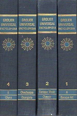 GROLIER UNIVERSAL ENCYCLOPEDIA. 10 Volúmenes.: Martin, Lowell A.