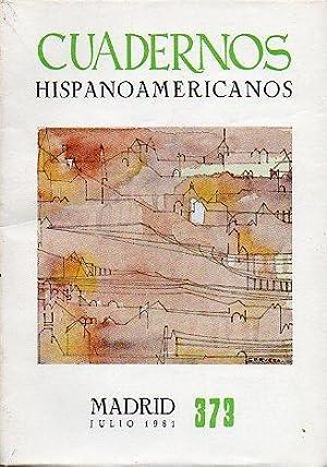 CUADERNOS HISPANOAMERICANOS. Revista mensual de cultura hispánica.: Maravall, José Antonio