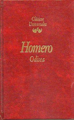 ODISEA. Traducción en verso de Fernando Gutiérrez. Notas de José Alsina.: ...