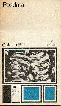 POSDATA. 10ª ed.: Paz, Octavio.
