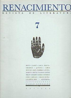 RENACIMIENTO. Revista de Literatura. Nº 7. Francisco: Benítez Reyes Felipe
