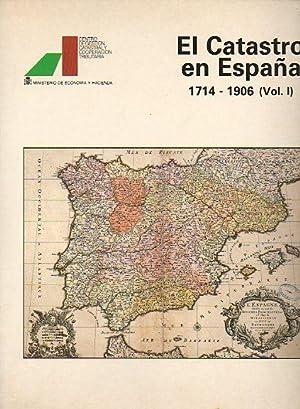 EL CATASTRO EN ESPAÑA. 1714-1806. Vol. I.: Segura i Mas,