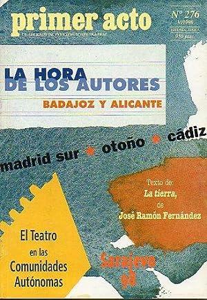 PRIMER ACTO. Cuadernos de Investigación Teatral. Segunda: Monelón, José (Dir.)