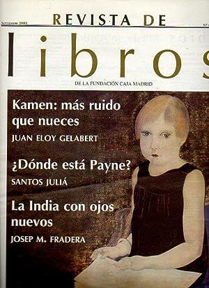 REVISTA DE LIBROS. Nº 81. Juan Eloy: Delgado-Gal, Álvaro (Dir.)