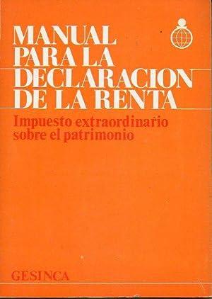 MANUAL PARA LA DECLARACIÓN DE LA RENTA.: De Santa Olalla