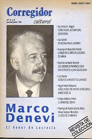 CORREGIDOR CULTURAL. Nº 5 y 6. Marco: Pampín, Manuel (Dir.)