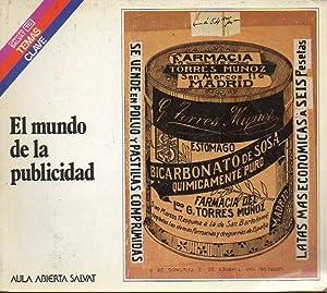 EL MUNDO DE LA PUBLICIDAD.: Furones, Miguel A.