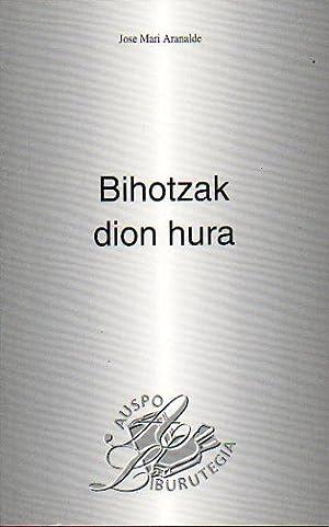 BIHOTZAK DION HURA.: Aranalde, Jose Mari.