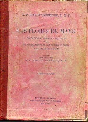 LAS FLORES DE MAYO. Colección de poesías,: Gorricho, Juan María,