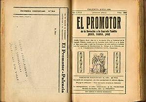 EL PROMOTOR DE LA DEVOCIÓN A LA SAGRADA FAMILIA. Año LVIII. Números 1.198 a ...