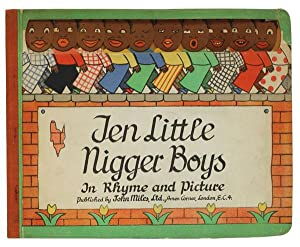 Ten Little Nigger Boys In Rhyme and: Anonymous