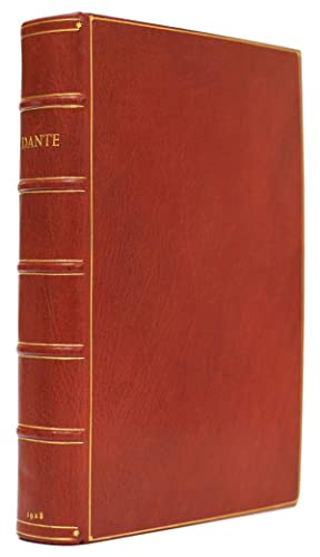 La Divina Commedia Or The Divine Vision of Dante Alighieri in Italian & English. The Italian text...