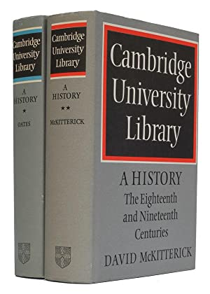Cambridge University Library - A History 1. From the beginnings to the Copyright Act of Queen Ann...