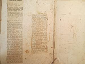 Thomas K. Stevens and Louisa Merrifield Family Bible; The Holy Bible Containing The Old and New ...