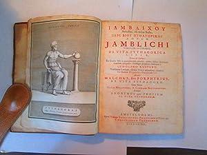 Iamblichi Chalcidensis Ex Coele-Syria De Vita Pythagorica Liber Graece & Latine