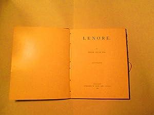 Lenore: Edgar Allan Poe