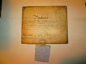 Probate of the Will of Frederick James Ibbetson: Frederick James Ibbetson