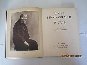 Photographe De Paris: Atget