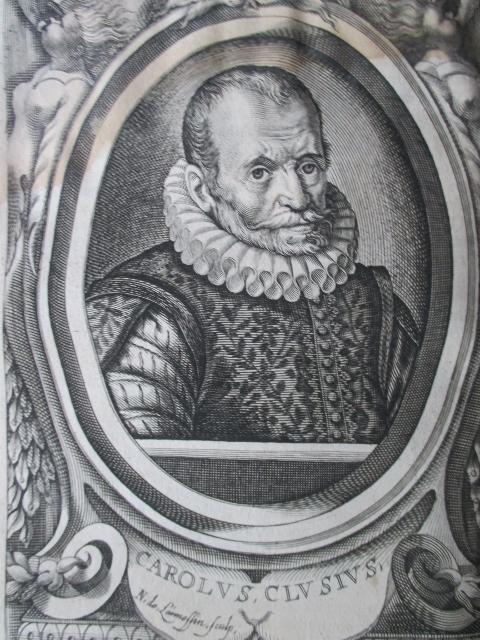 Porträt. Halbfigur. Kupferstich nach E. de Boulonois: L'Écluse, Charles de