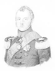 Porträt. Brustbild mit Orden. Original - Lithographie: Preussen, Heinrich Prinz