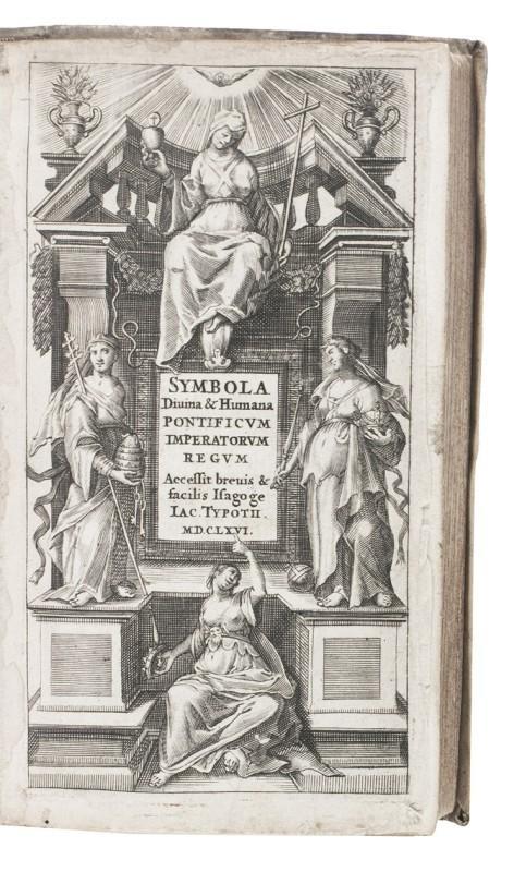 Symbola divina & humana pontificum imperatorum regum;: TYPOTIUS, Jacobus and