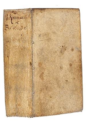 Sibylla trig-Andriana, seu virginitate, virginum statu et: KORNMANN, Heinrich.