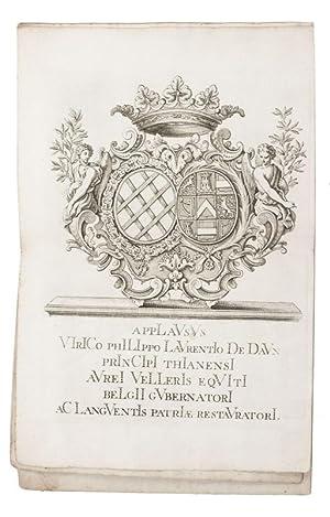 Applausus virico Philippo Laurentio de Daun principi: BORCHT, Petrus and