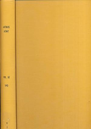 ARTIBUS ASIAE Volume LII, 1/2, 3/4.: Various.