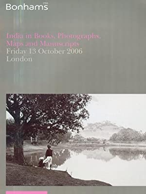 India in Books, Photographs, Maps and Manuscripts.: Bonhams.