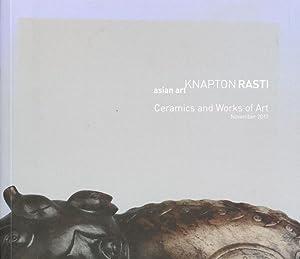 Knapton Rasti asian art: Ceramics and Works: Knapton, ,Christopher et