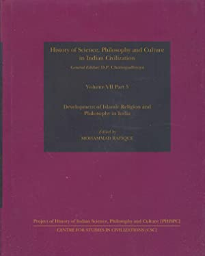Development of Islamic Religion and Philosophy in: Rafique, Mohammad.