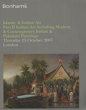 Bonhams: Islamic & Indian Art, Part II,: Bonhams