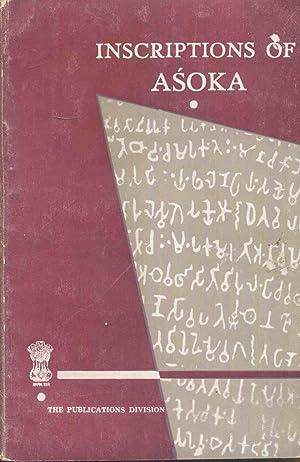 Inscriptions of Asoka.: Sircar, Dr. D.C.