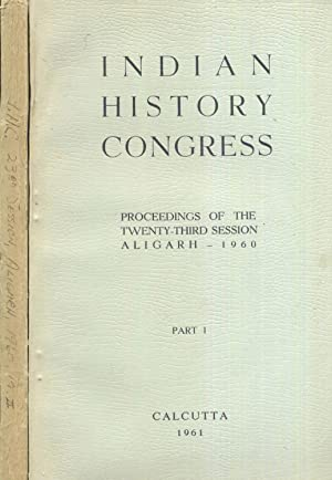 Indian History Congress. Proceedings of The Twenty-Third: Sen, Dr. P.