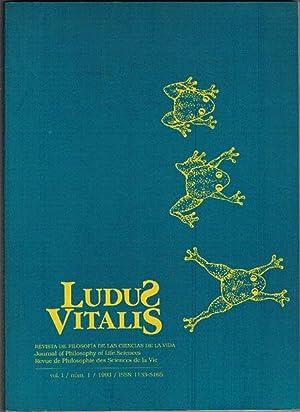 LUDUS VITALIS. Vol. I./ núm.1.: VV. AA.