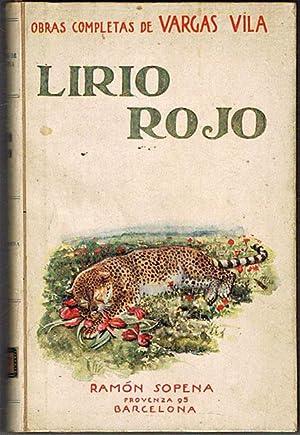 LIRIO ROJO (Eleonora).: VARGAS VILA, José