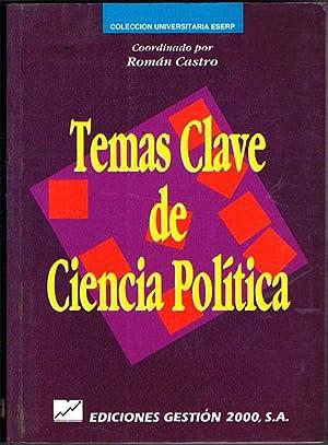TEMAS CLAVE DE CIENCIA POLÍTICA.: CASTRO, Román (Coord.).