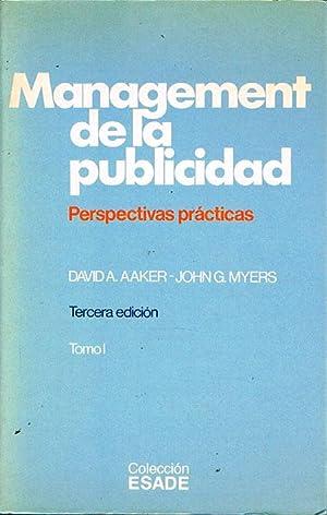 MANAGEMENT DE LA PUBLICIDAD. Perspectivas prácticas.: AAKER, David A./