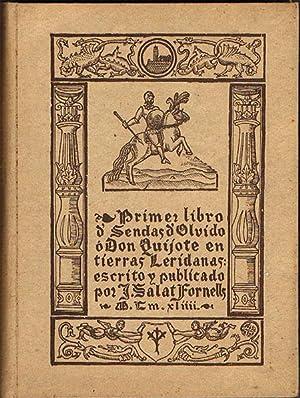 PRIMER LIBRO DE SENDAS DE OLVIDO Ó: SALAT FORNELLS, J.