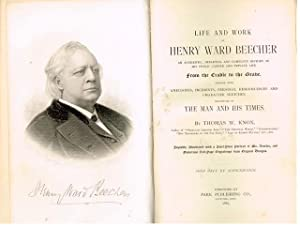 LIFE AND WORK OF HENRY WARD BEECHER: KNOX THOMAS W.
