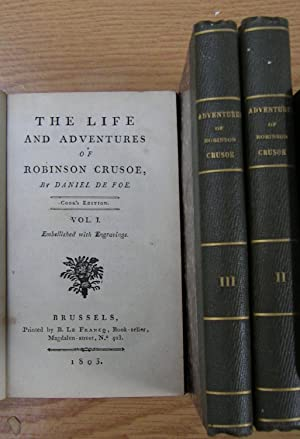 THE LIFE ANS ADVENTURES OF ROBINSON CRUSOE: DE FOE DANIEL