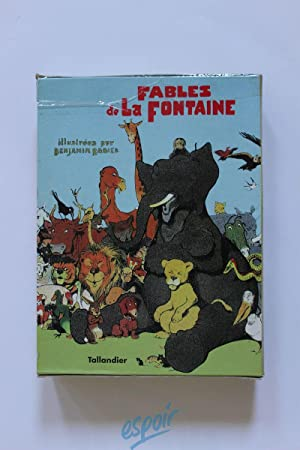 Fables de La Fontaine en 4 volumes: Benjamin Rabier