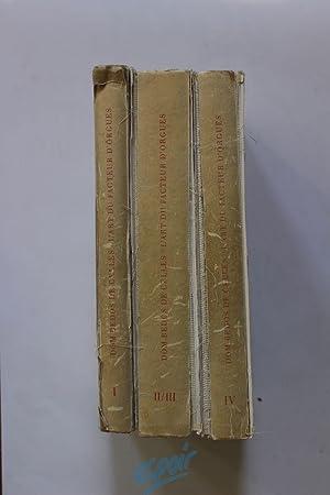 L'Art du Facteur d'Orgues - Faksimile-Nachdruck herausgegeben: BEDOS DE CELLES,