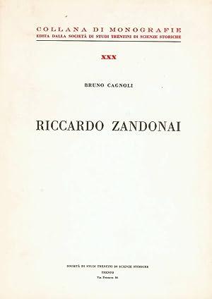 Riccardo Zandonai: Cagnoli Bruno