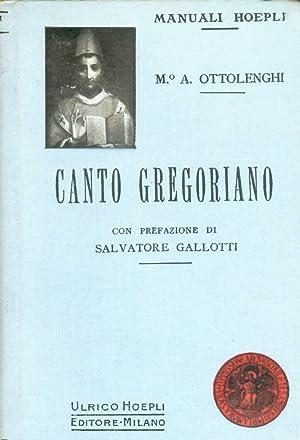 Canto gregoriano: Ottolenghi Aldo