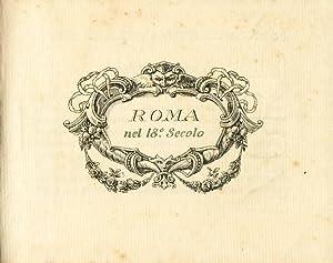 Roma nel 18° secolo. Ricordo dell'Albergo Eden: Scarlatti Americo [Mascaretti