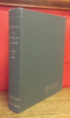 The Journal of Post Captain Nicolas Baudin,: BAUDIN, Nicolas.